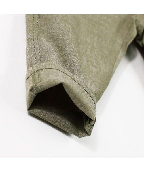 branshes(ブランシェス)/シャンブレークロップドパンツ(80~150cm)/119232409_img09