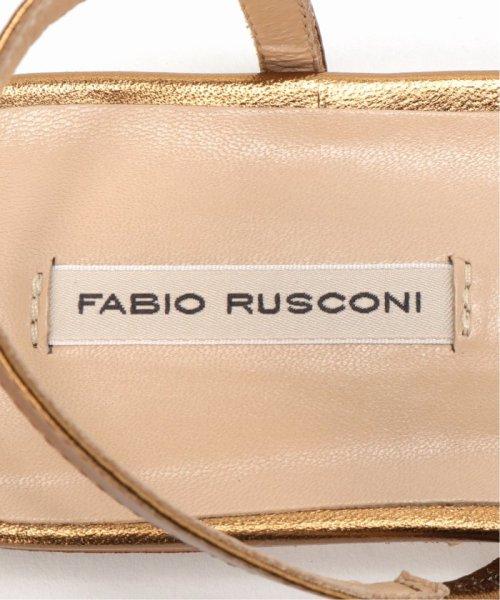 FRAMEWORK(フレームワーク)/FABIO RUSCONI メタリックフラットサンダル/19093230000810_img07