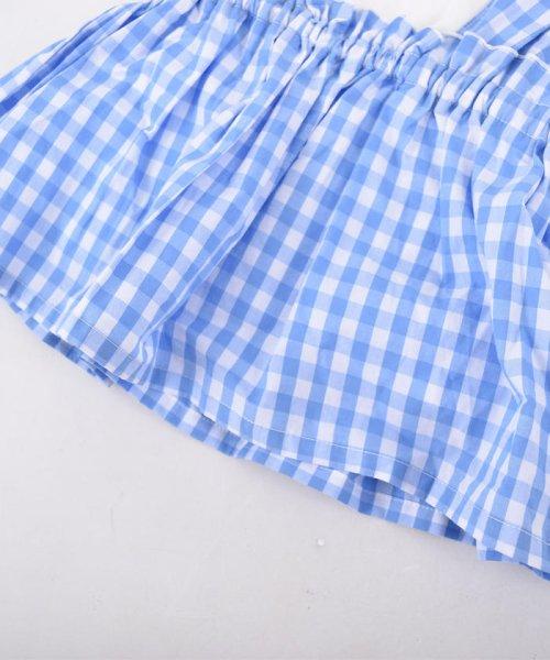 SLAP SLIP(スラップスリップ)/ブロードギンガムビスチェ付きTシャツ/180212509_img04