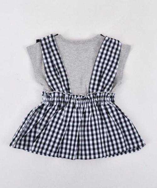 SLAP SLIP(スラップスリップ)/ブロードギンガムビスチェ付きTシャツ/180212509_img06
