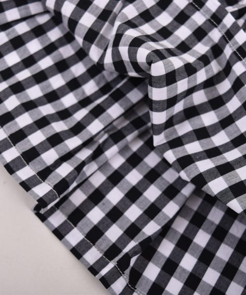 SLAP SLIP(スラップスリップ)/ブロードギンガムビスチェ付きTシャツ/180212509_img08