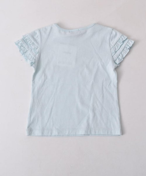 BeBe(ベベ)/リボン付ネックレスプリントTシャツ/111512595_img05