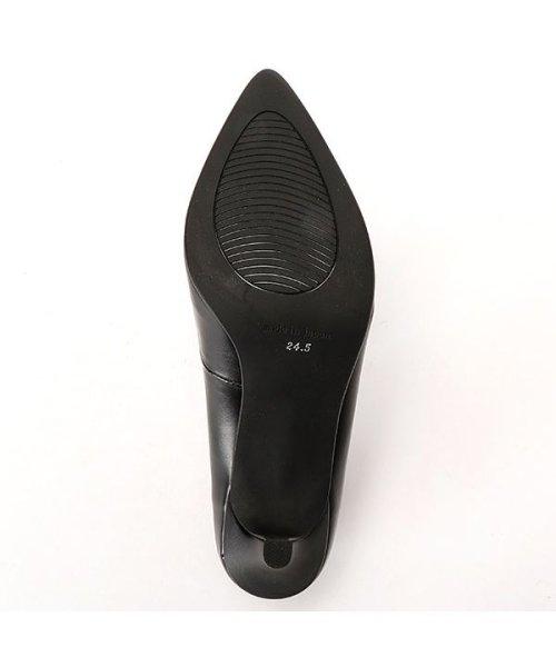 velikoko(ヴェリココ)/【19.5~27cm】[ラクチンきれいパンプス]高機能インソールポインテッド(7cmヒール)/P402_img05