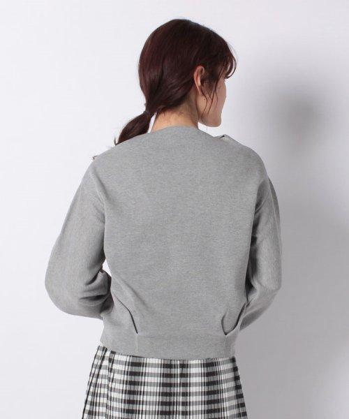 INTERPLANET(インタープラネット)/ハーフミラノ裾タックボリューム袖カットソー/10116003_img02