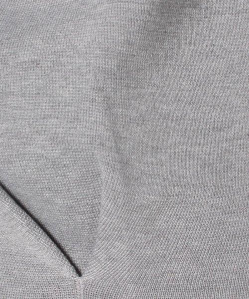 INTERPLANET(インタープラネット)/ハーフミラノ裾タックボリューム袖カットソー/10116003_img04