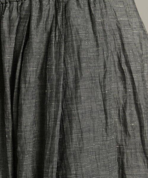 Pao・de・lo(パオデロ)/【雑誌掲載】【WEBサイズ別注】先染めリネンワッシャーキュロットパンツ/451083067_img08