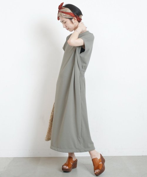 mjyuka(ミューカ)/フレンチ袖ロングワンピース/393692910_img03