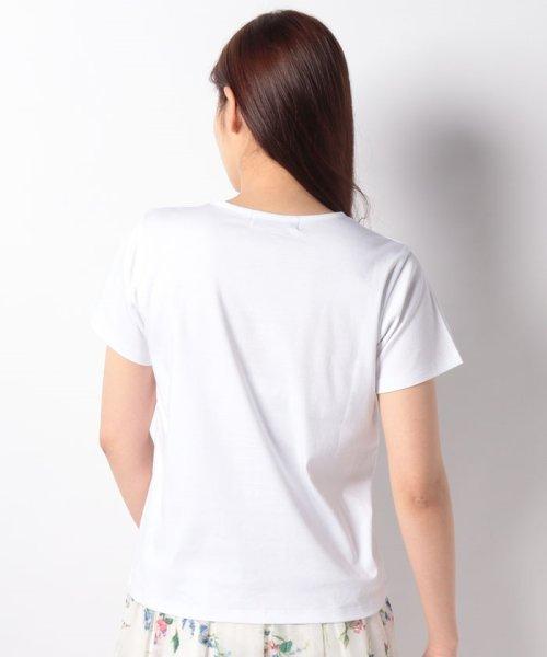 Rirandture(リランドチュール)/【美人百花 4月号掲載】カレッジロゴTシャツ/89197270_img14