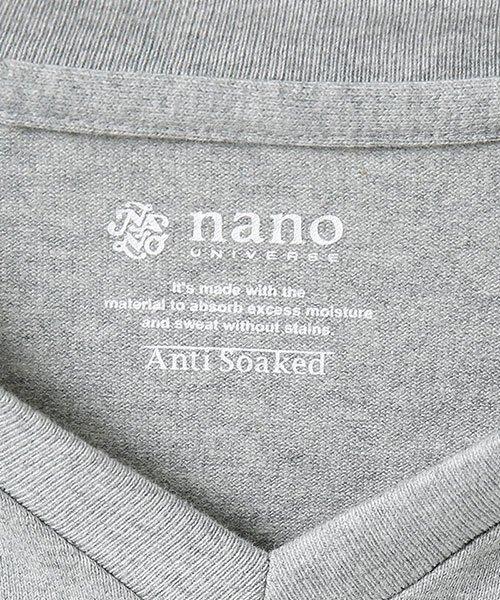 nano・universe(ナノ・ユニバース)/Anti Soaked ヘビーVネックTシャツ/6689124008_img08