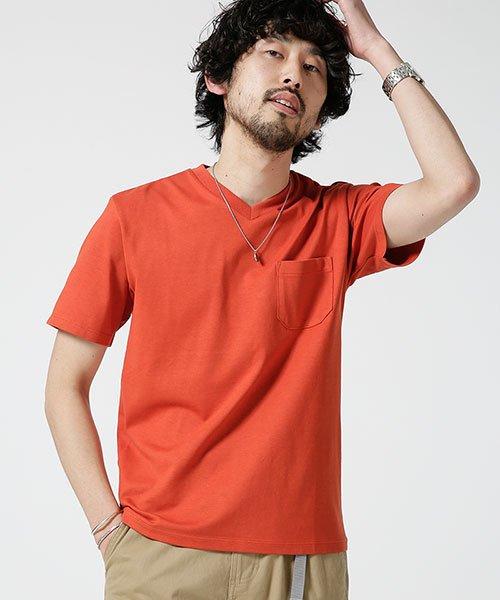 nano・universe(ナノ・ユニバース)/Anti Soaked ヘビーVネックTシャツ/6689124008_img16