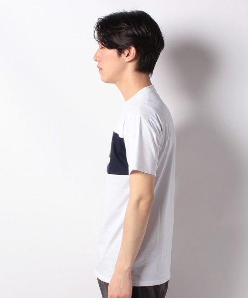 FILA(フィラ)/T/Cフロント切替半袖Tシャツ/419302_img01