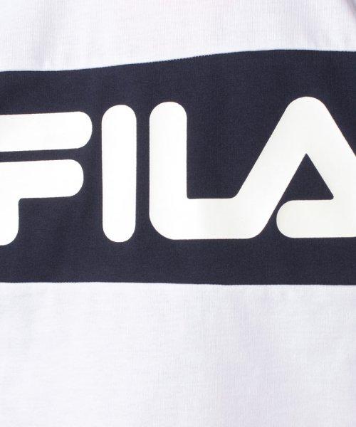 FILA(フィラ)/T/Cフロント切替半袖Tシャツ/419302_img05