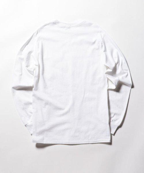 FREDYMAC(フレディマック)/ポケット付 USシルエットロンスリーブTシャツ/9-0609-2-50-005_img01