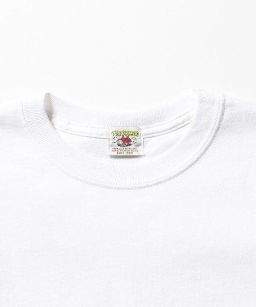 FREDYMAC(フレディマック)/ポケット付 USシルエットロンスリーブTシャツ/9-0609-2-50-005_img02