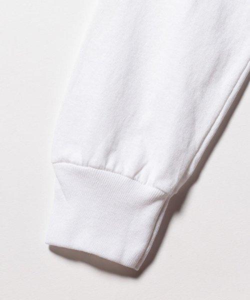 FREDYMAC(フレディマック)/ポケット付 USシルエットロンスリーブTシャツ/9-0609-2-50-005_img03