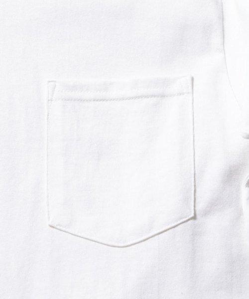 FREDYMAC(フレディマック)/ポケット付 USシルエットロンスリーブTシャツ/9-0609-2-50-005_img05