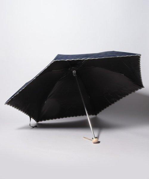 LANVIN Collection(umbrella)(ランバンコレクション(傘))/LANVIN COLLECTION 晴雨兼用傘 ミニ傘 【軽量】 ジャガード スカラ刺繍/220831001302_img01