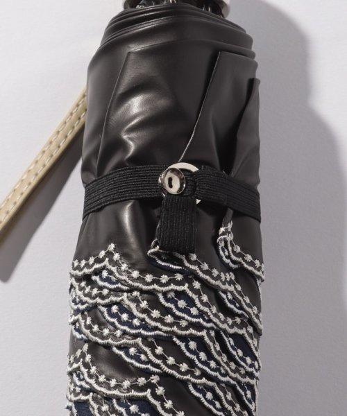 LANVIN Collection(umbrella)(ランバンコレクション(傘))/LANVIN COLLECTION 晴雨兼用傘 ミニ傘 【軽量】 ジャガード スカラ刺繍/220831001302_img02