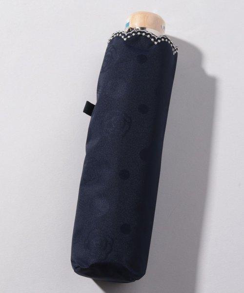 LANVIN Collection(umbrella)(ランバンコレクション(傘))/LANVIN COLLECTION 晴雨兼用傘 ミニ傘 【軽量】 ジャガード スカラ刺繍/220831001302_img03