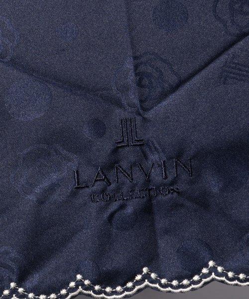 LANVIN Collection(umbrella)(ランバンコレクション(傘))/LANVIN COLLECTION 晴雨兼用傘 ミニ傘 【軽量】 ジャガード スカラ刺繍/220831001302_img04
