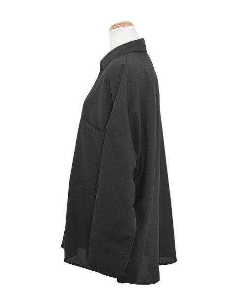 ANDJ(ANDJ(アンドジェイ))/リネン風BIGポケットオーバーサイズシャツ/tb79c04260_img20