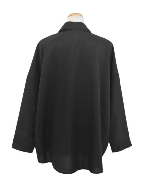 ANDJ(ANDJ(アンドジェイ))/リネン風BIGポケットオーバーサイズシャツ/tb79c04260_img21