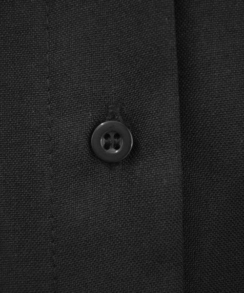ANDJ(ANDJ(アンドジェイ))/リネン風BIGポケットオーバーサイズシャツ/tb79c04260_img28