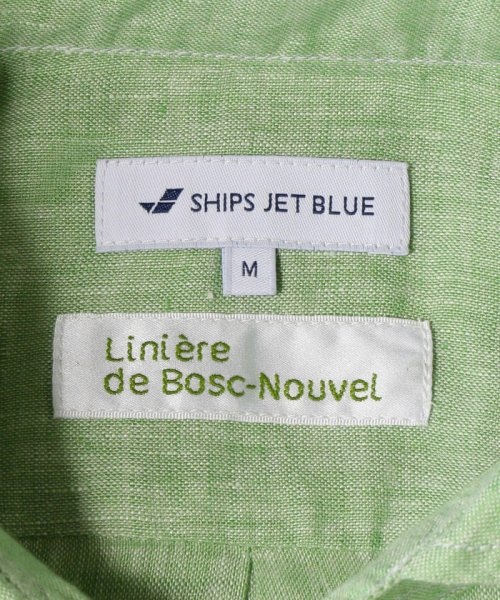 SHIPS JET BLUE(シップス ジェットブルー)/SHIPS JET BLUE: L.B.N. リネン セミワイドカラーシャツ/121110153_img02