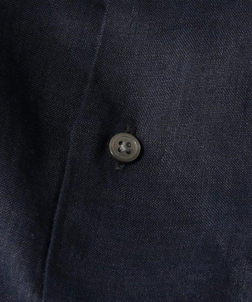 SHIPS JET BLUE(シップス ジェットブルー)/SHIPS JET BLUE: L.B.N. リネン セミワイドカラーシャツ/121110153_img09