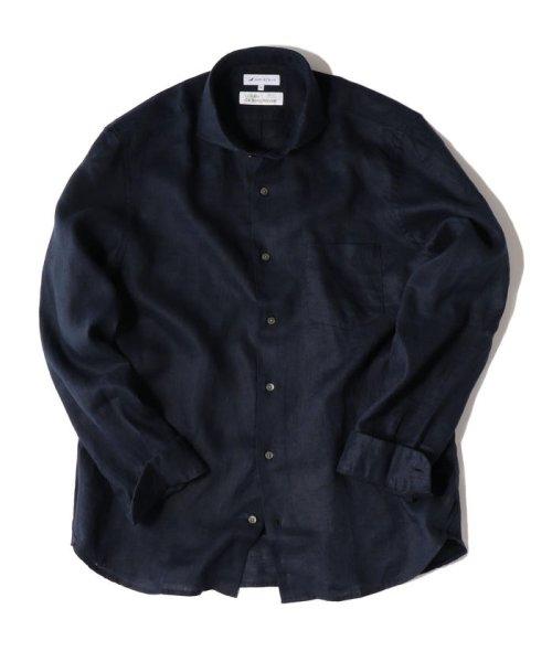 SHIPS JET BLUE(シップス ジェットブルー)/SHIPS JET BLUE: L.B.N. リネン セミワイドカラーシャツ/121110153_img13