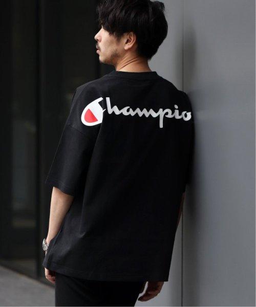 EDIFICE(エディフィス)/Champion×EDIFICE / チャンピオン別注 BIG LOGO TEE/19071310004710_img05