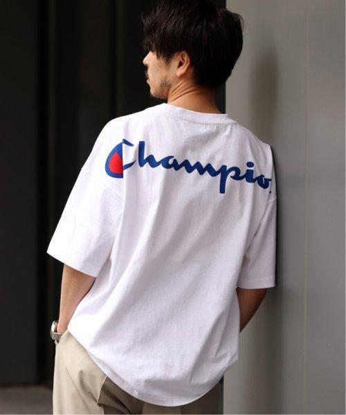 EDIFICE(エディフィス)/Champion×EDIFICE / チャンピオン別注 BIG LOGO TEE/19071310004710_img07
