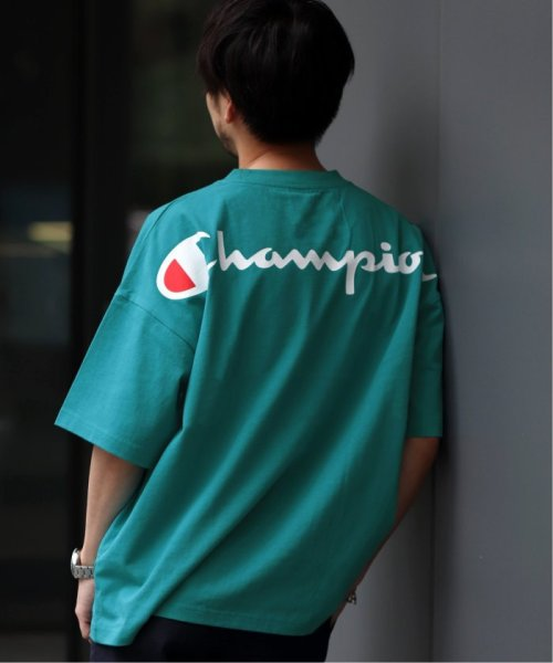 EDIFICE(エディフィス)/Champion×EDIFICE / チャンピオン別注 BIG LOGO TEE/19071310004710_img08