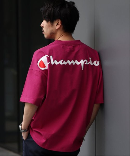 EDIFICE(エディフィス)/Champion×EDIFICE / チャンピオン別注 BIG LOGO TEE/19071310004710_img09