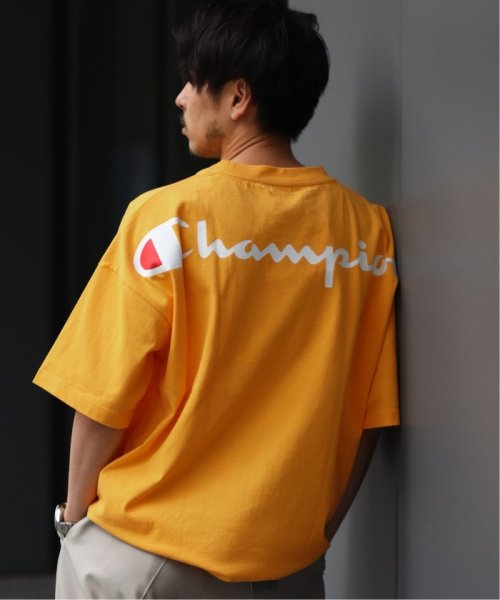 EDIFICE(エディフィス)/Champion×EDIFICE / チャンピオン別注 BIG LOGO TEE/19071310004710_img11