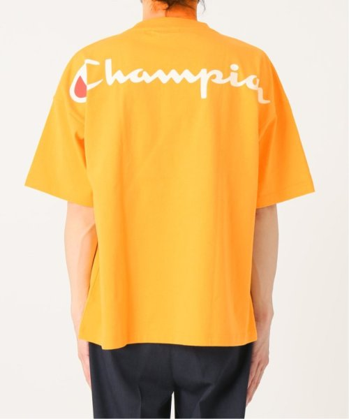 EDIFICE(エディフィス)/Champion×EDIFICE / チャンピオン別注 BIG LOGO TEE/19071310004710_img14