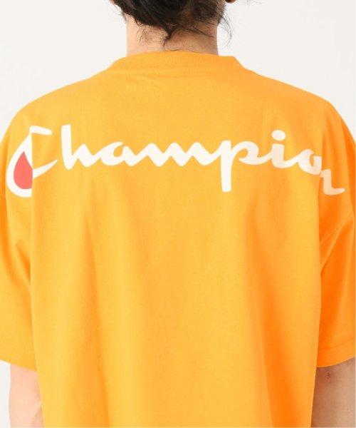 EDIFICE(エディフィス)/Champion×EDIFICE / チャンピオン別注 BIG LOGO TEE/19071310004710_img15