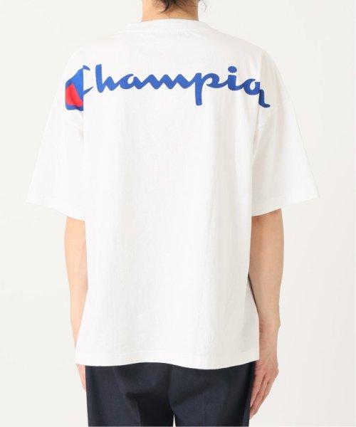 EDIFICE(エディフィス)/Champion×EDIFICE / チャンピオン別注 BIG LOGO TEE/19071310004710_img24