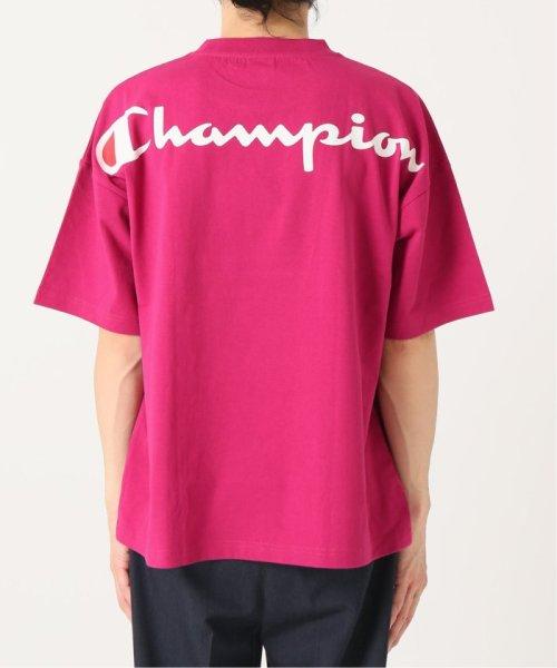 EDIFICE(エディフィス)/Champion×EDIFICE / チャンピオン別注 BIG LOGO TEE/19071310004710_img30