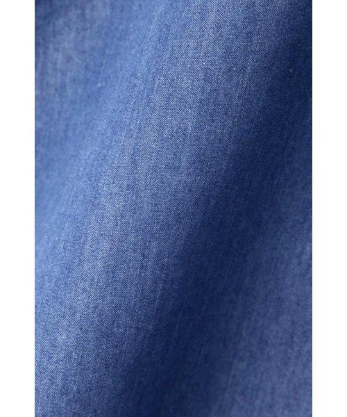 PROPORTION BODY DRESSING(プロポーション ボディドレッシング)/スプリングデニムべっ甲バックルフレアースカート/1219120407_img09