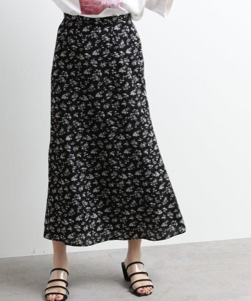 OZOC(オゾック)/[洗える]花柄ナローマキシスカート/20190116276043_img01