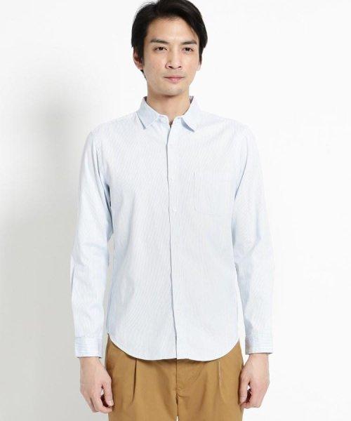 THE SHOP TK(ザ ショップ ティーケー)/コードレーンシャツ/20190161686674_img01