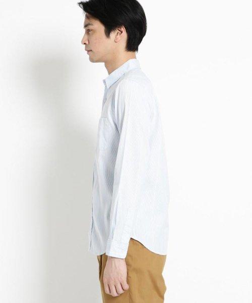 THE SHOP TK(ザ ショップ ティーケー)/コードレーンシャツ/20190161686674_img02