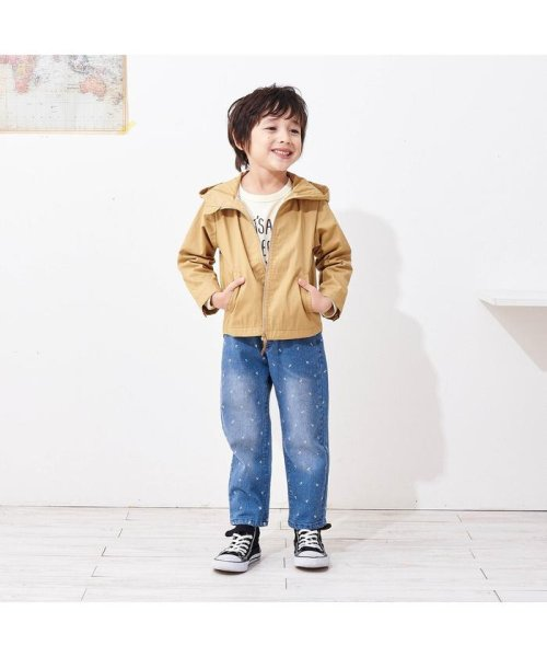 apres les cours(アプレレクール)/ワンポイント刺繍総柄パンツ_10分丈/V121049_img13