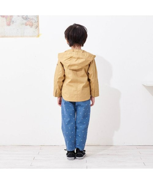 apres les cours(アプレレクール)/ワンポイント刺繍総柄パンツ_10分丈/V121049_img14