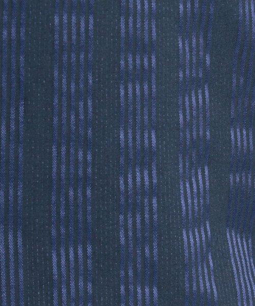 NARA CAMICIE(ナラカミーチェ)/ストレッチサテンストライプベーシック長袖シャツ/109101003_img02