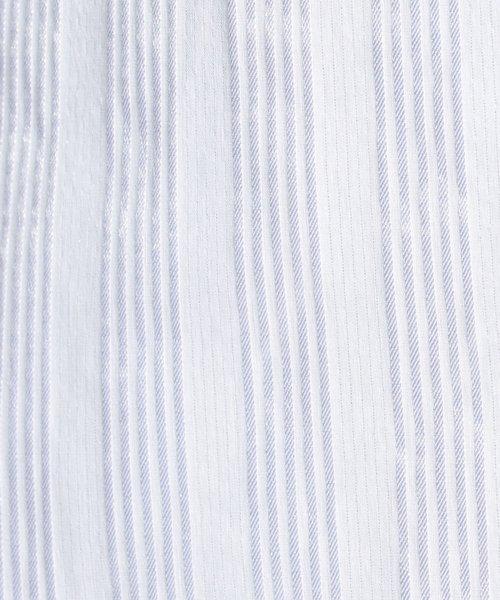 NARA CAMICIE(ナラカミーチェ)/ストレッチサテンストライプベーシック長袖シャツ/109101003_img03