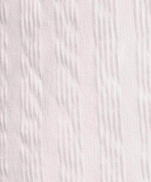 NARA CAMICIE(ナラカミーチェ)/ストレッチサテンストライプベーシック長袖シャツ/109101003_img04