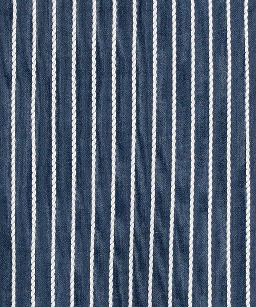 NARA CAMICIE(ナラカミーチェ)/イタリアンストライプフロントフリル七分袖シャツ/109102021_img05