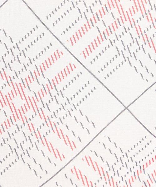 NARA CAMICIE(ナラカミーチェ)/シフォンチェックドロストフリル半袖ブラウス/109104032_img04